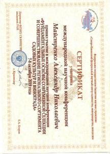 Сертификат участника 7.10 2019 Краснодар 002
